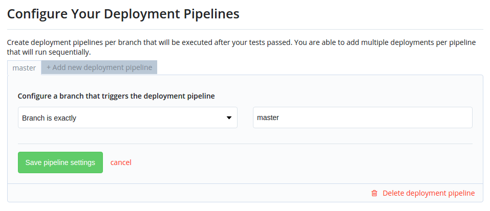Codeship-pipeline